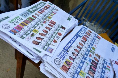 Article : Le sens des élections en Haïti