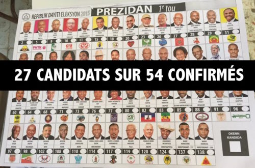 Article : Candidats sans discours politique